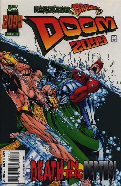 Doom 2099 41 - Doom - 2099 - Marvel Comics - Daredevil - Death In The Depths - Humberto Ramos