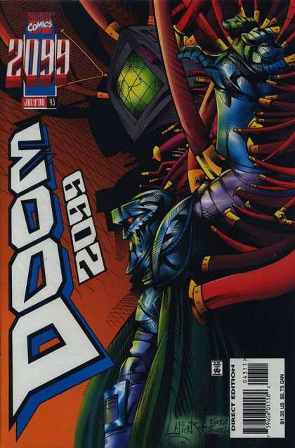 Doom 2099 43 - Marvel - Marvel Comics - Doom - 2099 - Future Doom