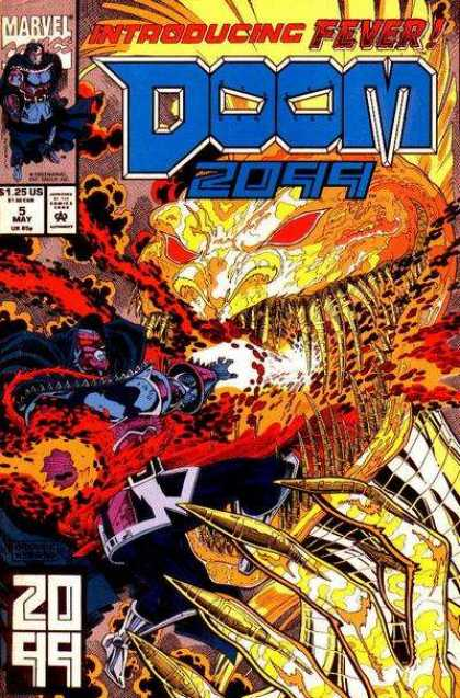 Doom 2099 5 - Marvel - Fever - 5 May - Approved By The Comics Code Authority - 125 Us