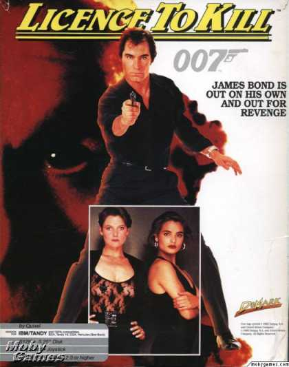 DOS Games - 007: Licence to Kill