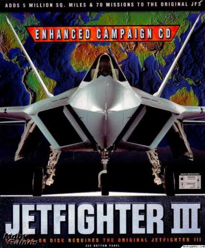 DOS Games - JetFighter III Enhanced Campaign CD