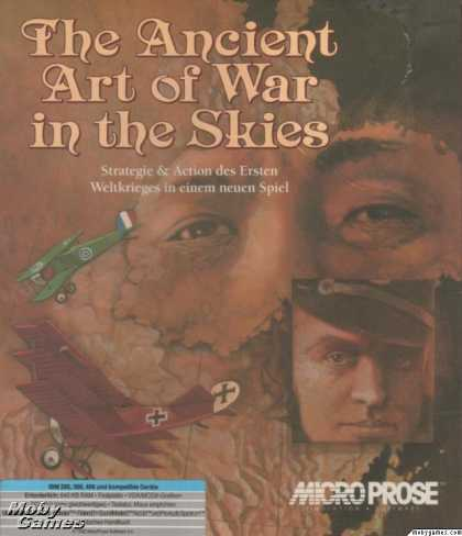 DOS Games - The Ancient Art of War in the Skies