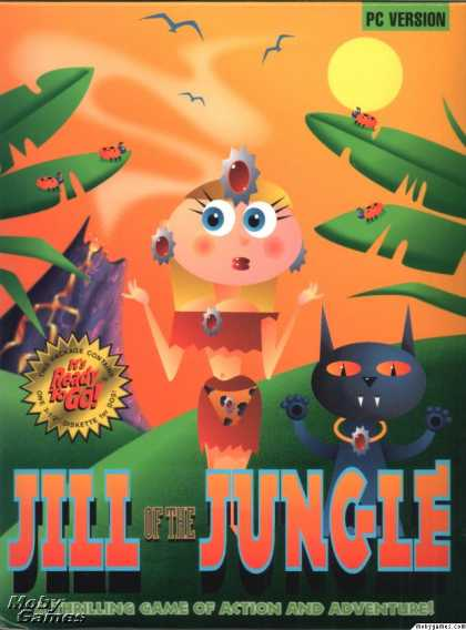 DOS Games - Jill of the Jungle