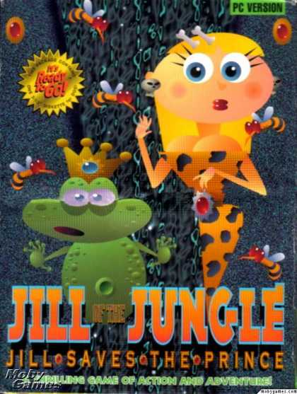 DOS Games - Jill of the Jungle: Jill Saves the Prince
