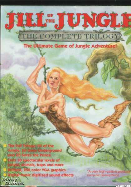 DOS Games - Jill of the Jungle: The Complete Trilogy