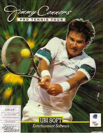 DOS Games - Jimmy Connors Pro Tennis Tour