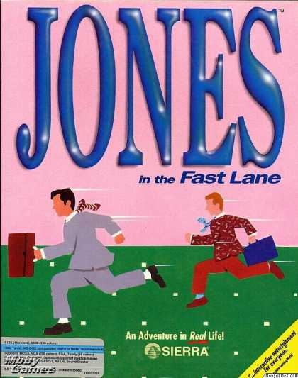 DOS Games - Jones in the Fast Lane