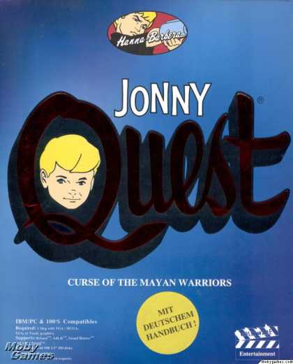 DOS Games - Jonny Quest: Curse of the Mayan Warriors