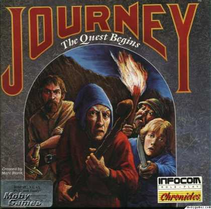 DOS Games - Journey: The Quest Begins