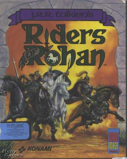 DOS Games - J.R.R. Tolkien's Riders of Rohan
