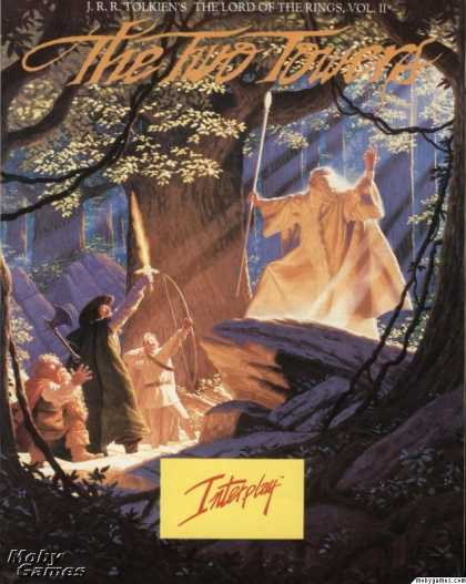 DOS Games - J.R.R. Tolkien's The Lord of the Rings, Vol. II: The Two Towers