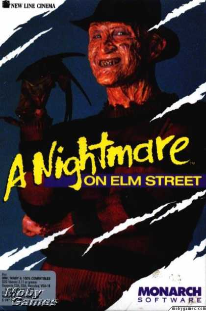 DOS Games - A Nightmare on Elm Street