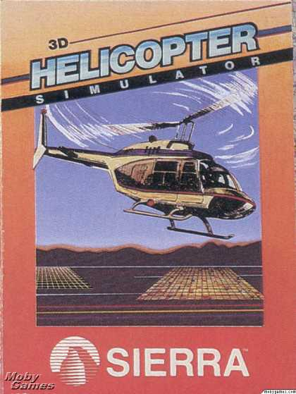 DOS Games - 3-D Helicopter Simulator