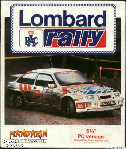 DOS Games - Lombard RAC Rally