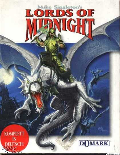 DOS Games - Lords of Midnight