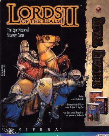 DOS Games - Lords of the Realm II (Royal Edition)