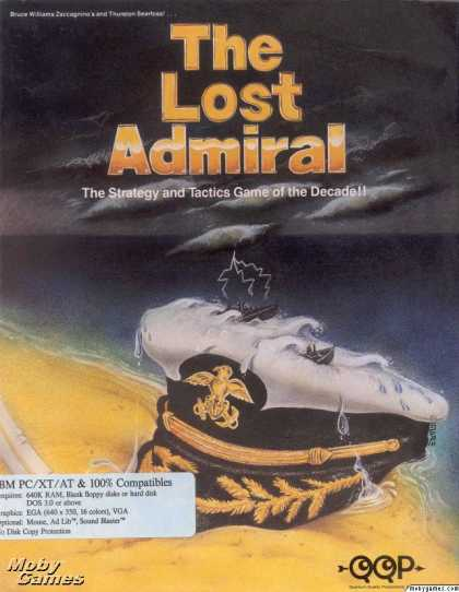 DOS Games - The Lost Admiral