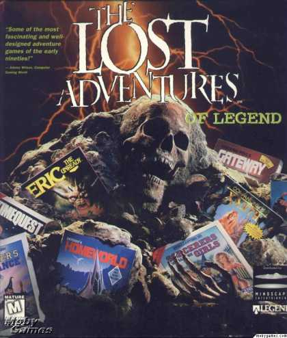 DOS Games - The Lost Adventures Of Legend