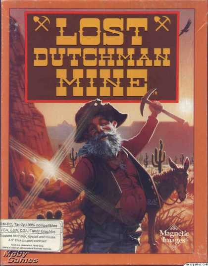 DOS Games - Lost Dutchman Mine