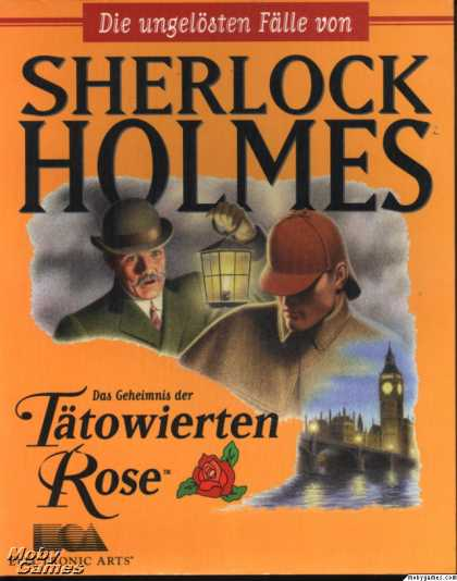 DOS Games - The Lost Files of Sherlock Holmes: The Case of the Rose Tattoo