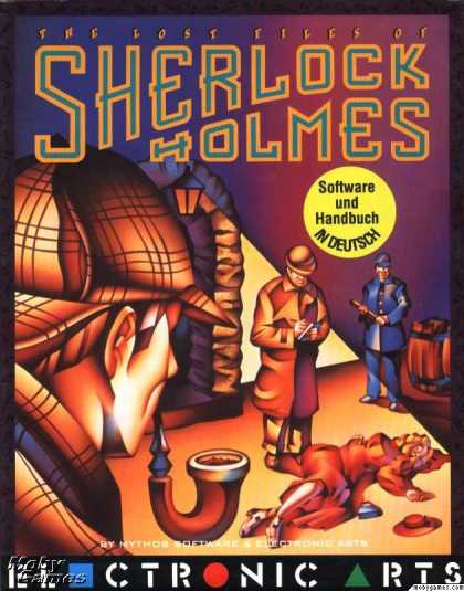 DOS Games - The Lost Files of Sherlock Holmes: The Case of the Serrated Scalpel