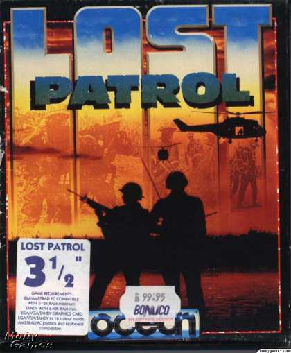 DOS Games - Lost Patrol