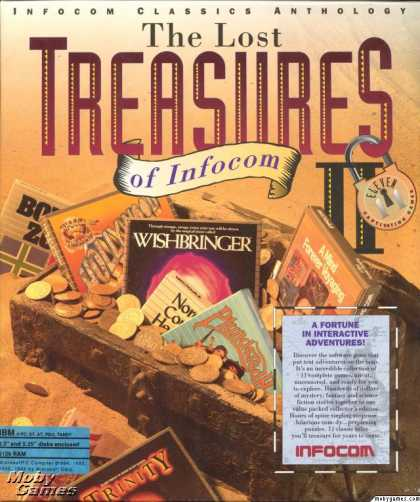 DOS Games - The Lost Treasures of Infocom II