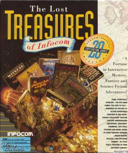 DOS Games - The Lost Treasures of Infocom