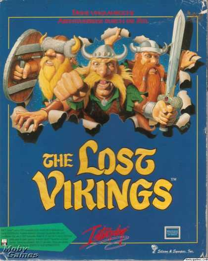 DOS Games - The Lost Vikings