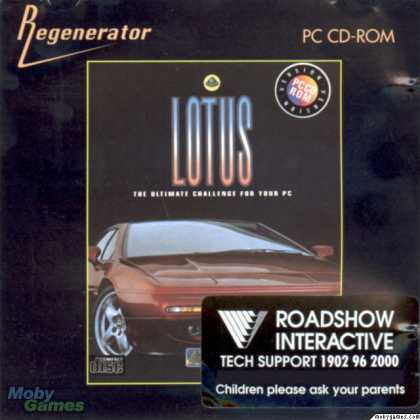 DOS Games - Lotus: The Ultimate Challenge