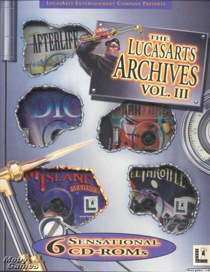 DOS Games - The LucasArts Archives Vol. III