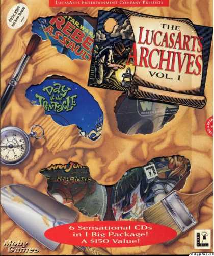 DOS Games - The LucasArts Archives Vol. I