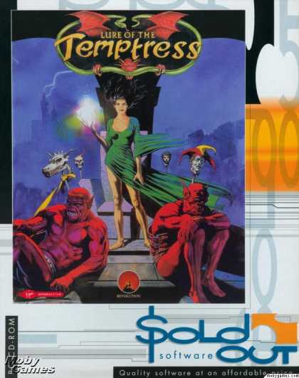 DOS Games - Lure of the Temptress