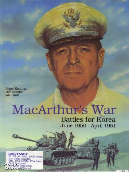 DOS Games - MacArthur's War: Battles for Korea