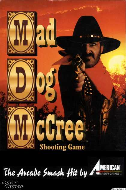 DOS Games - Mad Dog McCree