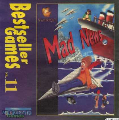 DOS Games - Mad News