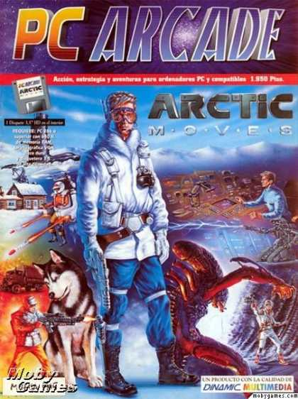 DOS Games - Arctic Moves