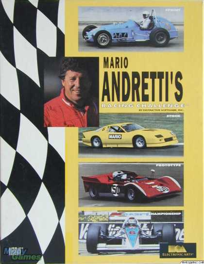 DOS Games - Mario Andretti's Racing Challenge
