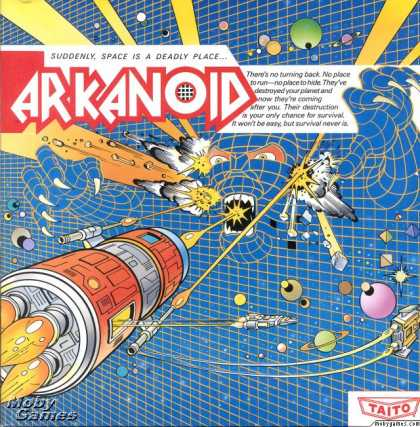 DOS Games - Arkanoid
