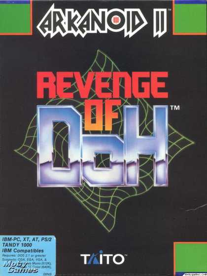 DOS Games - Arkanoid 2: Revenge of Doh