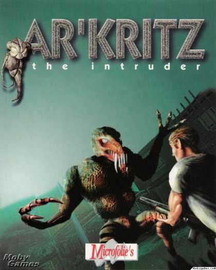 DOS Games - Ar'Kritz The intruder