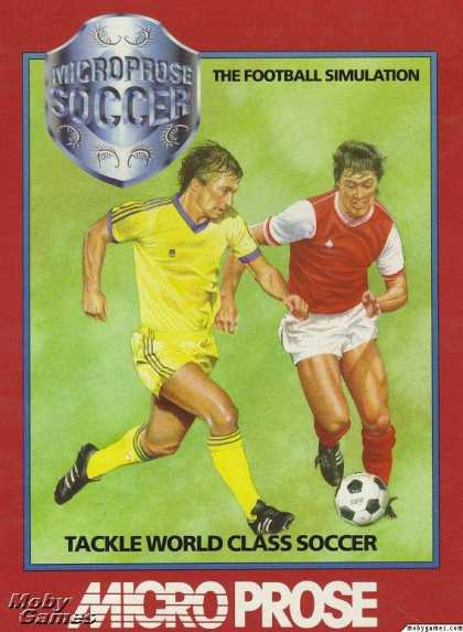 DOS Games - Microprose Pro Soccer