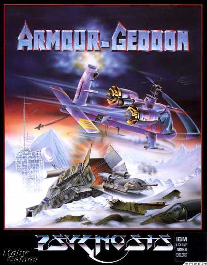 DOS Games - Armour-Geddon