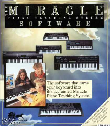 DOS Games - The Miracle Piano Teaching System