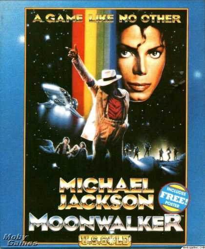 DOS Games - Moonwalker