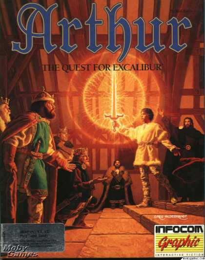 DOS Games - Arthur: The Quest for Excalibur