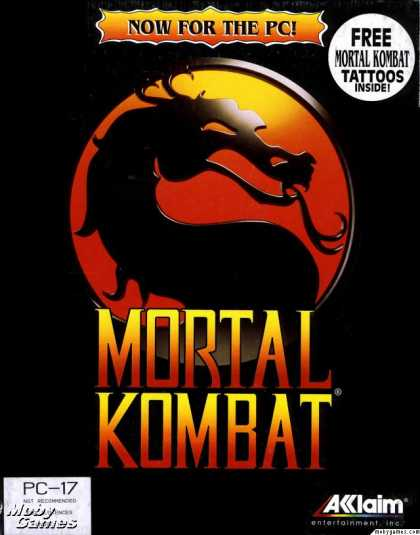 DOS Games - Mortal Kombat