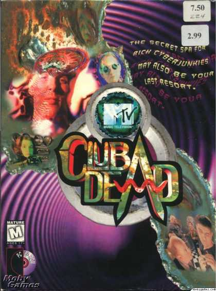 DOS Games - MTV's Club Dead