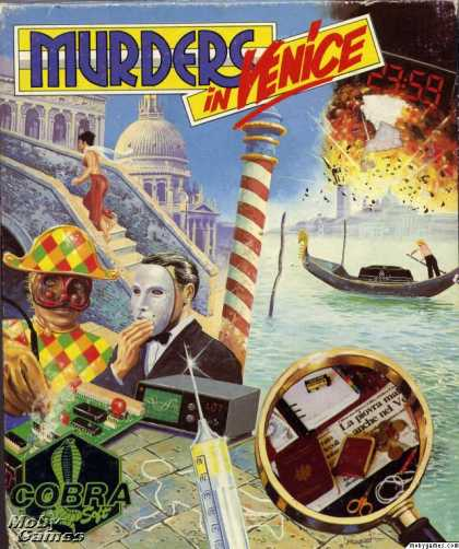 DOS Games - Murders in Venice