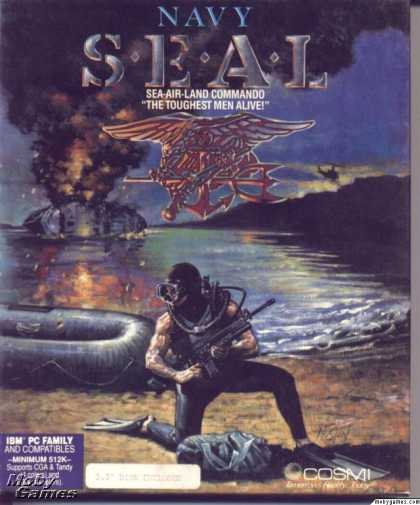DOS Games - Navy Seal